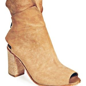 Free People Golden Road open toe bootie